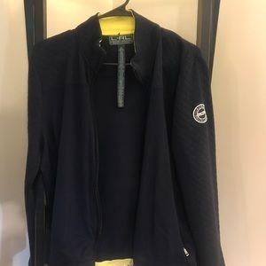 Navy blue Ralph Lauren active wear set size xl